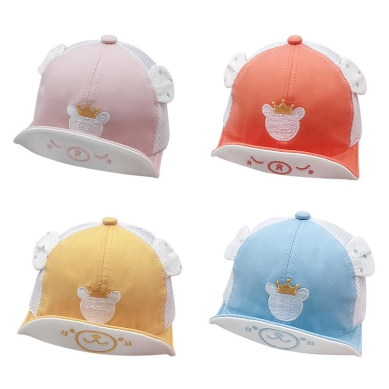 Baby Boy Girl Cap Embroidery Number Baby Baseball Cap Summer Autumn Children Cotton Sun Hat
