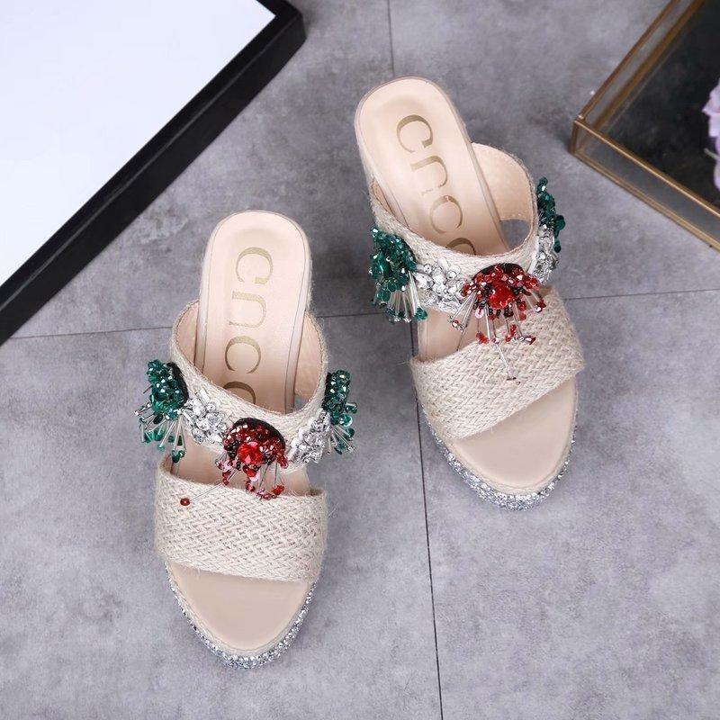 Beaded Sandals and Slippers Women Slippers Slippers Drivers Sandals Slides Sneakers Princetown Leather Slipper Real leather