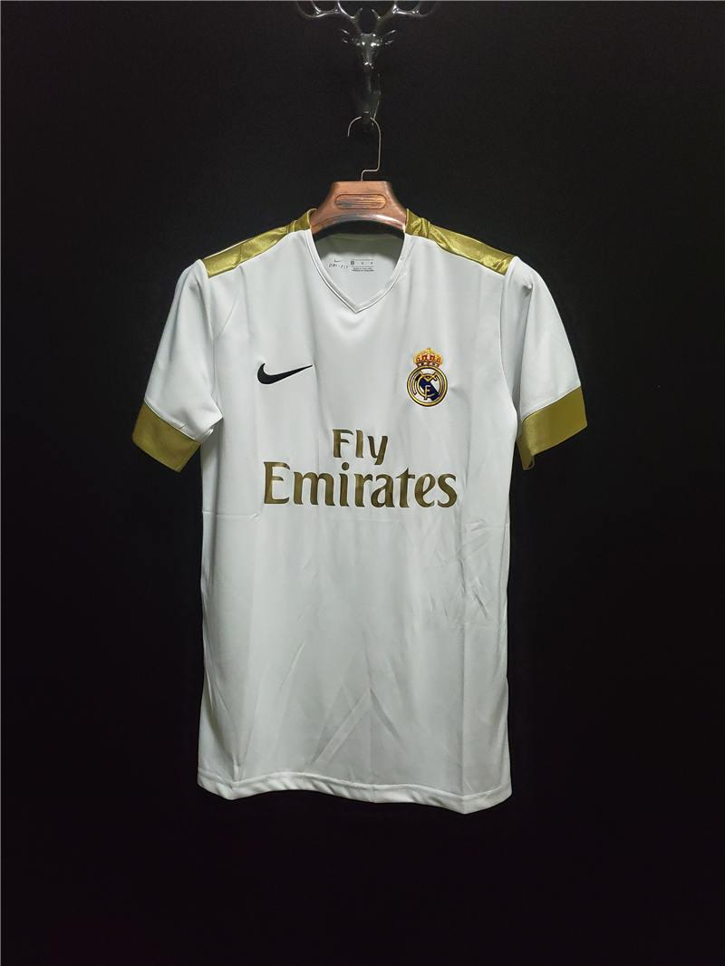 2020 2021 Real Madrid HOME Soccer Jersey Thai Quality Real Madrid 20 21 HAZARD MODRIC BENZEMA Soccer shirts customized football Uniforms
