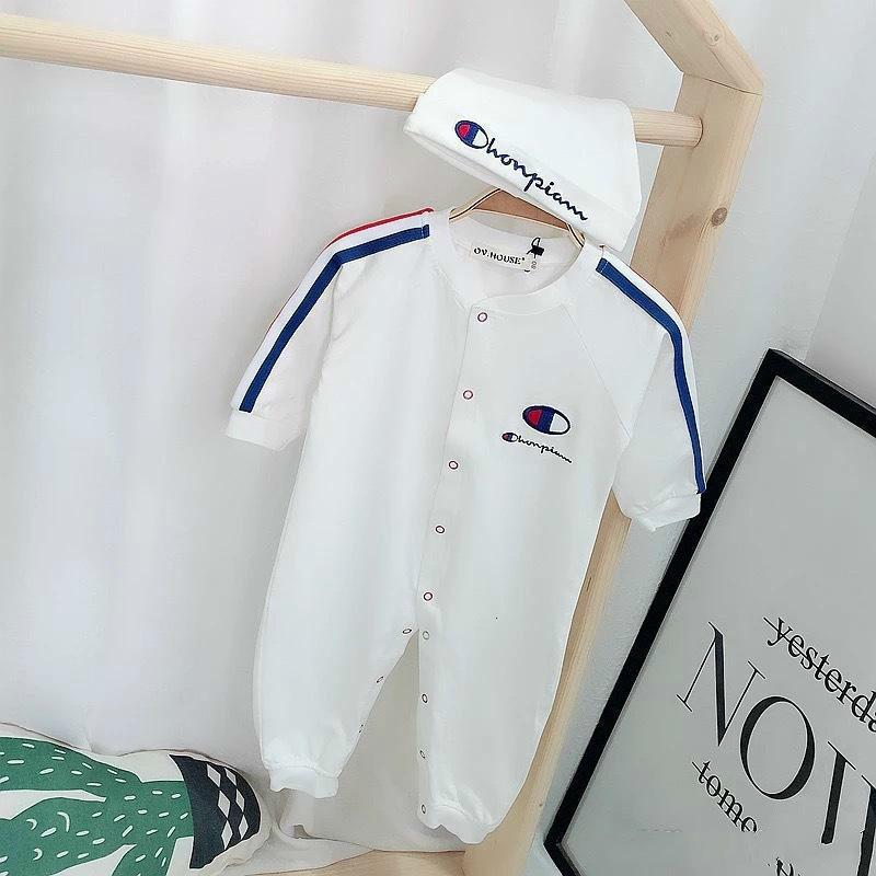 0-24 mongths neugeborene Kind-Baby-Mädchen-Set Spielanzug-Overall-Hut-Kleidung stellt Dropshipping Baby-Kleidung stellte Sportklage Kinder