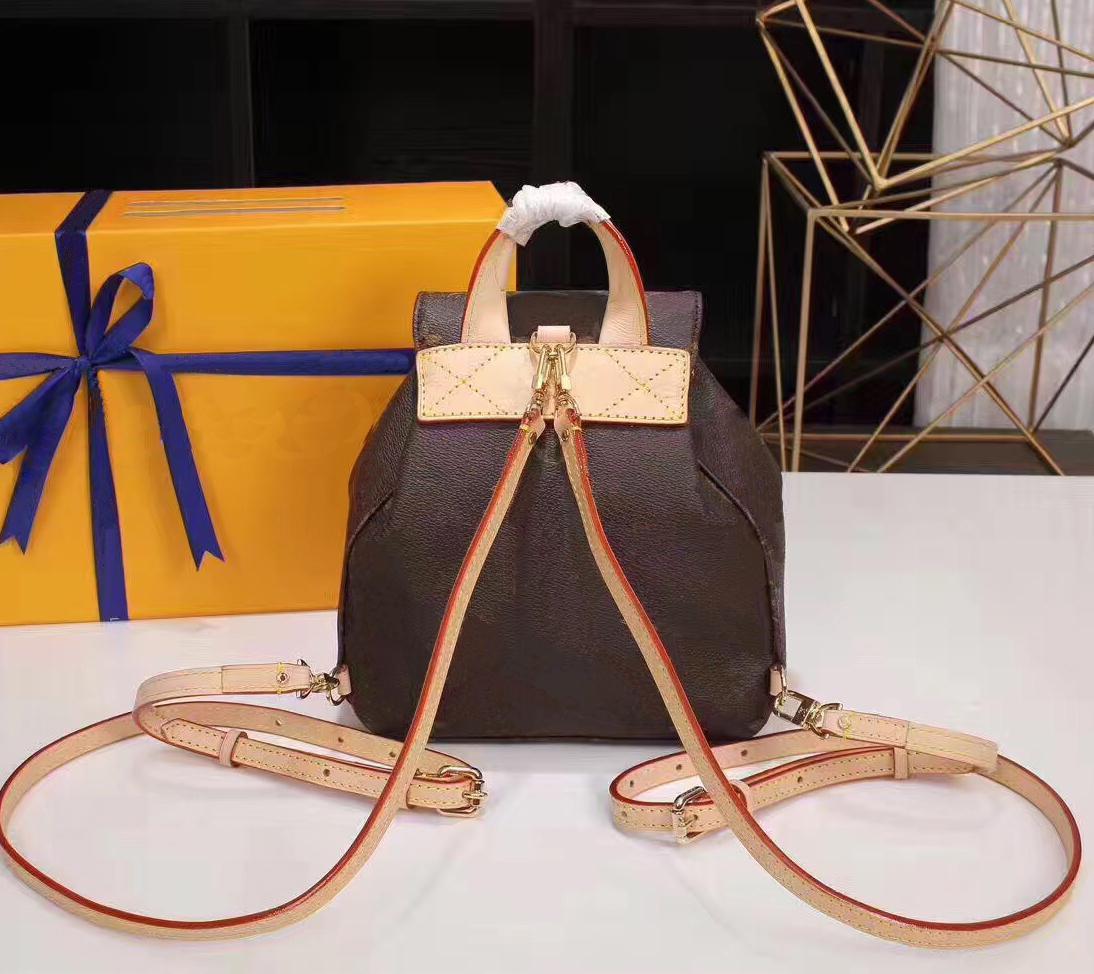 Designer Women Leather Handbag Purse Lady Fashion Backpack Shoulder Bag Handbag Presbyopic Small Package Messenger Bag#09