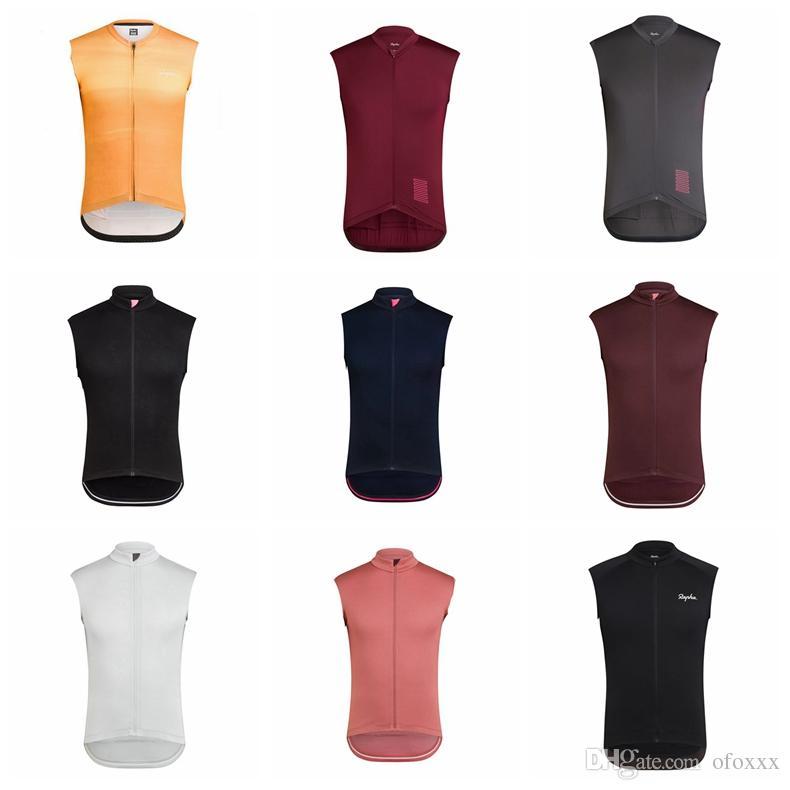 라파 사이클링 민소매 저지 조끼 남성 야외 여름 통기성 방풍 스포츠 저지 큰 가치 실용적인 S51010