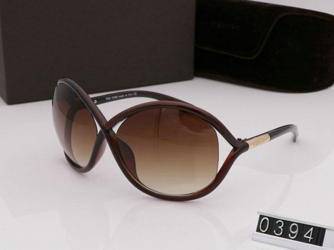 Dikdörtgen En Kaliteli Yeni Moda Güneş Gözlüğü Tom Adam Kadın Gözlük Tasarımcı Marka Gözlük Ford Lensler ile Kutusu 0394 Sıcak Trend Güneş Gözlüğü