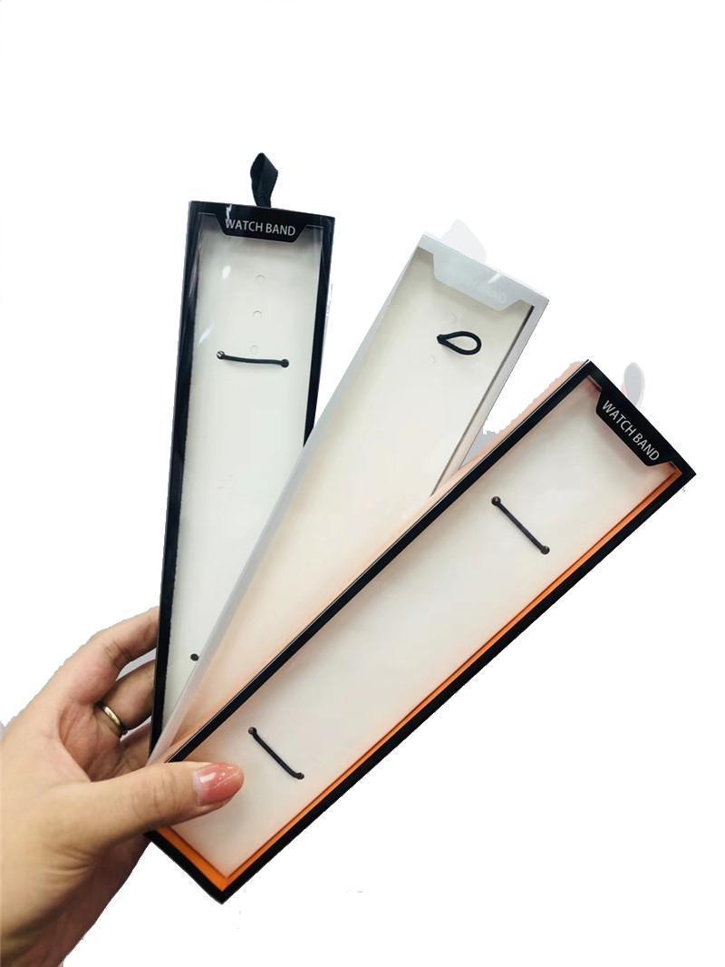 Elma İzle için iWatch Kayış kutusu Sıcak Moda Basit Paket Watchband Kutusu için Evrensel Akıllı İzle Band Perakende Paketi