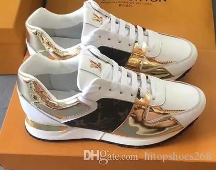 Chegada Newss Homens Mulheres Moda Sneaker com altos Casual calça as sapatilhas sapatos de alta qualidade apartamentos de couro genuíno sapatos