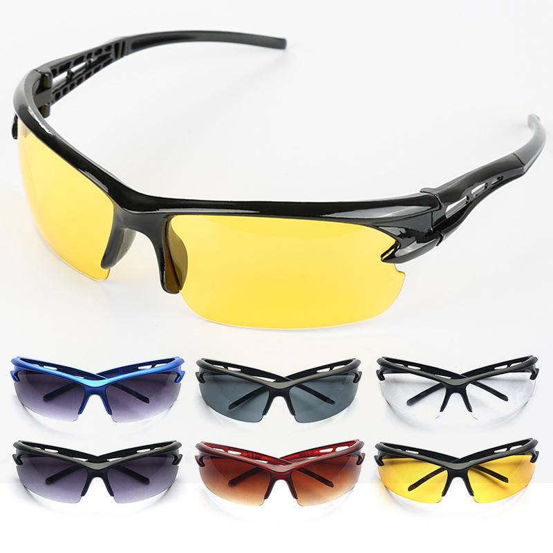 Radfahren Sport Reiten Fahrrad-Gläser Anti-UV-Sportbrille Multiple Color Bike Brillen Outdoor Radsport Brillen