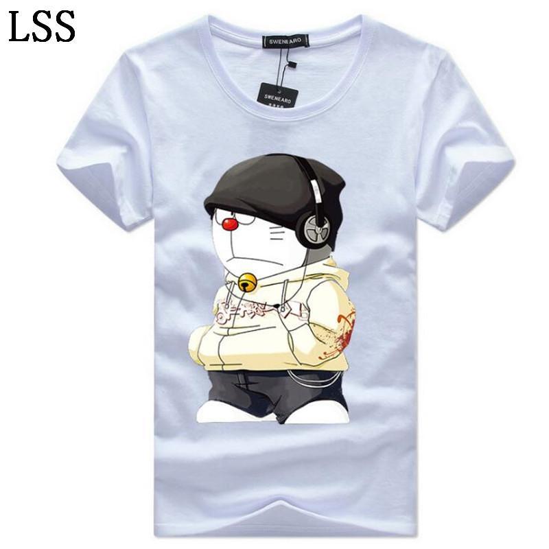Men's T-Shirts Plus Size 5XL Tee Shirt Men Summer Short Sleeve Print funny T-Shirt Male TShirts Camiseta Tshirt Homme HC-7