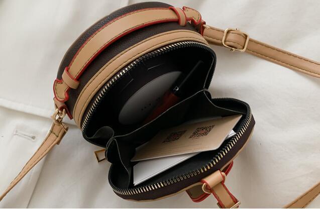 bolsos de diseño de lujo de los bolsos de las mujeres los mini bolsos de hombro pequeñas redondas comodín bolsas bolso crossbody niña