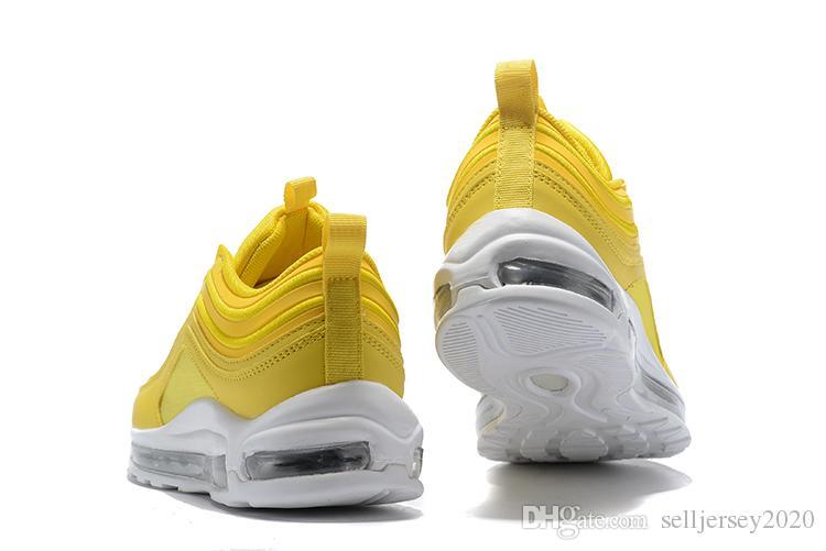 Designer 97s Running Shoes Mustard