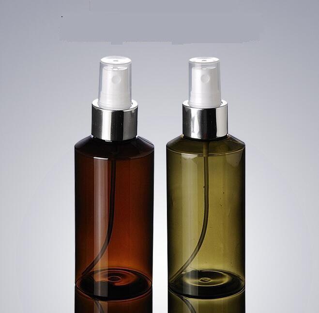 300pcs Useful 100ml Protable Spray Bottle Atomizer Refillable Bottles Vial with Silver Nozzle Empty Refillable Bottles