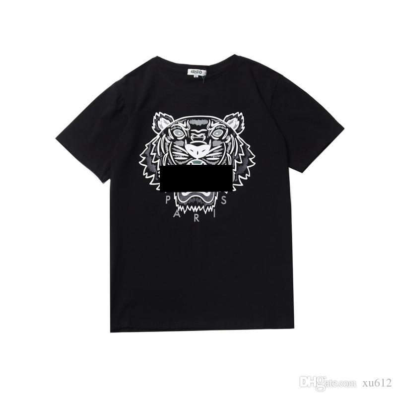 More Colors Shirts For Men Tiger Head