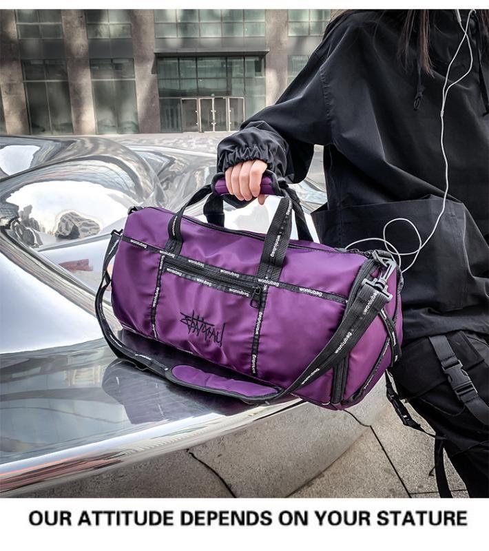 Oxford impermeável sacos Homens Viagem mão bagagem Big Travel Bag Negócios de Grande Capacidade de-semana Duffle Bag