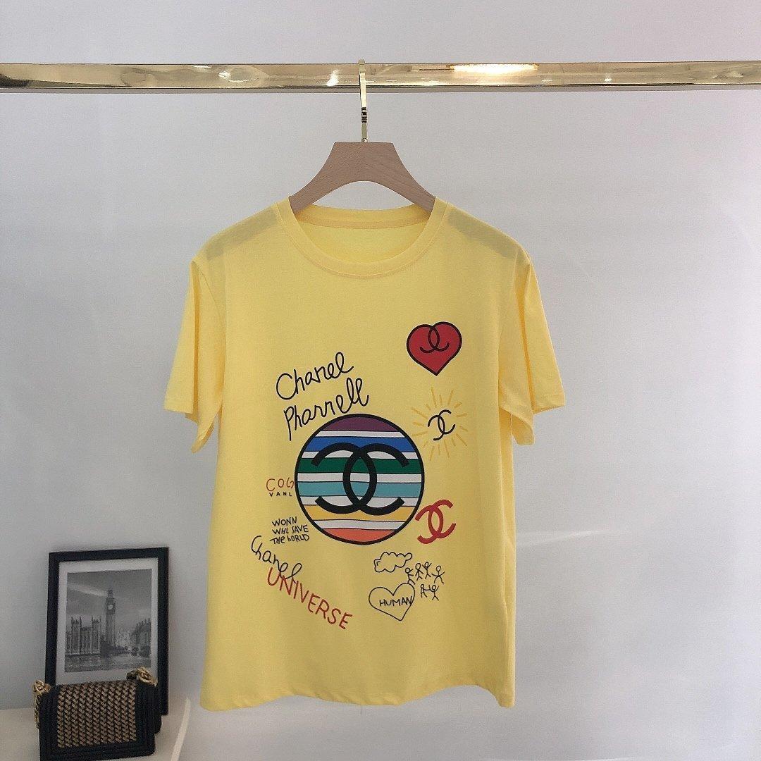 qualitativ hochwertige und Sommer neues Frühjahr Damen Kurzarm-lässiges T-Shirt 2020 beste Art und Weise Kleidung CHHCiwalkers05