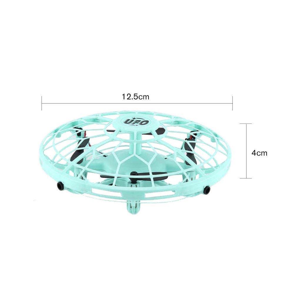 AX-8601 Mini RC Drone com Sensores 2.4G 4CH Quadrotor Gyro bola voar inteligentes Shatterproof Pocket UFO Brinquedos seguro para as crianças