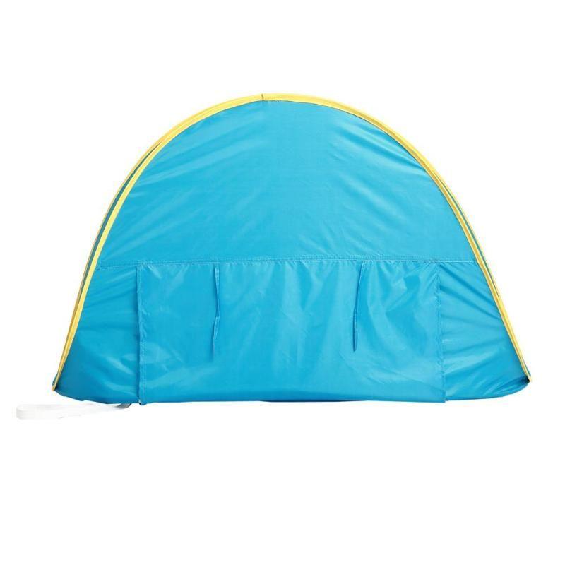 Baby Beach Tenda Bambini impermeabile Pop-Up Tenda Tenda protezione UV Parasole con Piscina per Bambini di campeggio esterno Parasole B