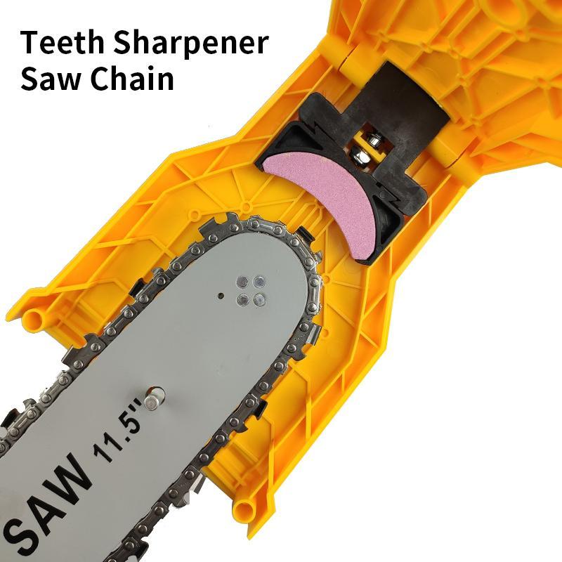 치아 깎이 톱 체인 깎이 빠른 연삭 전력 전기 톱 연쇄 목공 도구 바 장착형