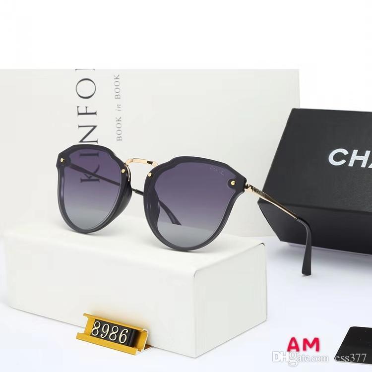 Le ultime vendite di stilisti di moda maschile e femminile avanzati occhiali di lusso della moda retrò pilota Occhiali da sole