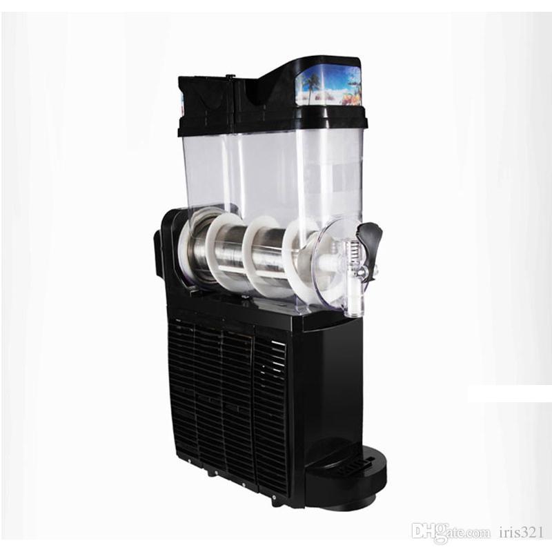 Nouveau type commercial Slush machine 15L fonte de neige Machine 1 réservoir glace concassée smoothies machine