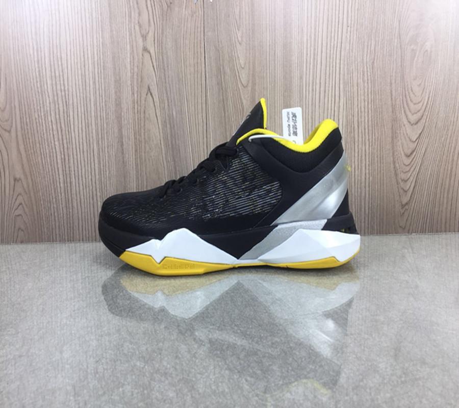 أسود مامبا السابع 7 ديل سول أحذية كرة السلة كرة السلة عالية الجودة عيد الميلاد ليوبارد ميدالية الذهب ما هو الحذاء الرياضي مع مربع