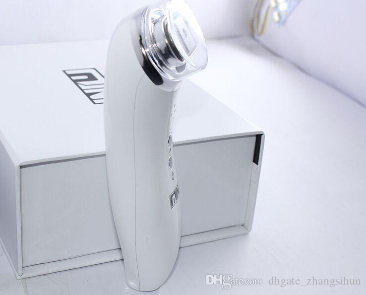 Мини-биполярный RF HIFU Ультразвук для лица машина для ухода за кожей для домашнего использования Face Lift RF кожи омоложение машина