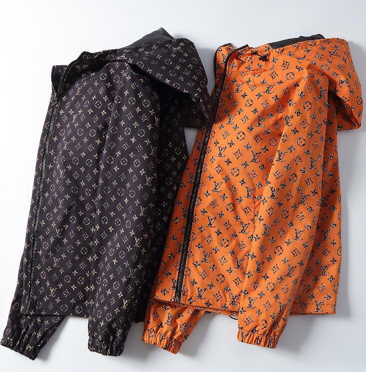 Louιs Vuιtton 2020 estrellas de alta calidad de las chaquetas para hombre y mujer rompevientos calle impresa chaqueta informal cazadora de moda