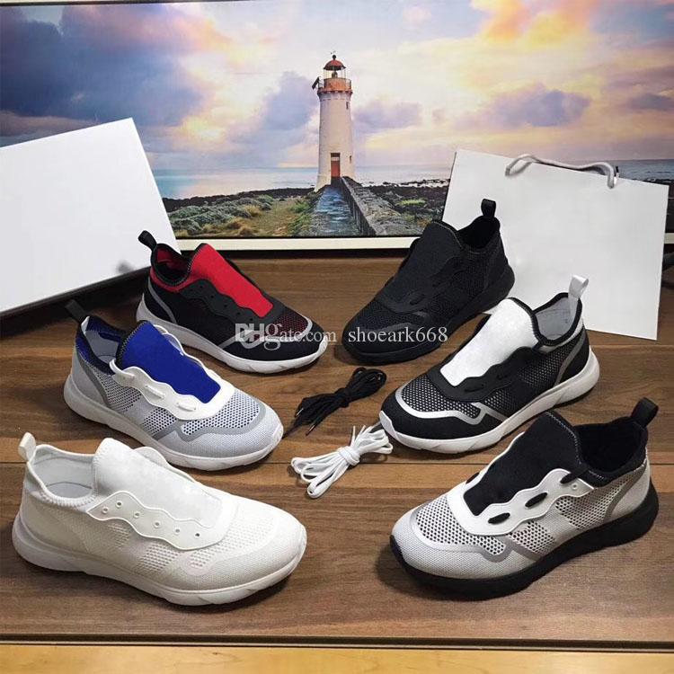 Оригинальная коробка 2019 NEW Летняя мода Женская Обувь B21 Neo Low-Top Повседневная обувь вязаная воздухопроницаемой сеткой Мужчины Дизайнерская обувь размер 35-45