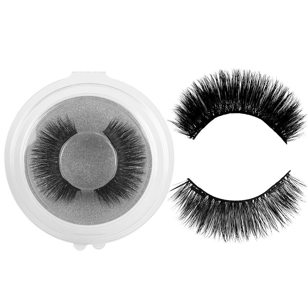1 Unidades de Maquillaje Sin Pegamento Pestañas Falsas Magnéticas Tiras Completas Imanes Pestañas Maquillaje Herramientas de Extensión de Belleza Reutilizables