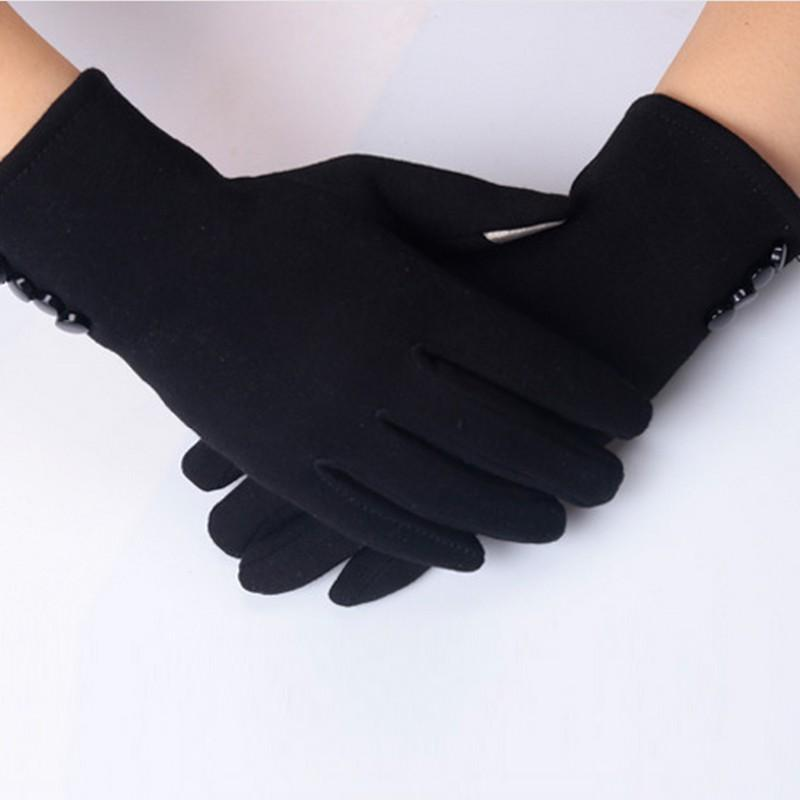 Luva Female Gloves Winter for Fitness Women Guantes Mujer PhoneTouch Screen Wrist Mittens Heated Gloves