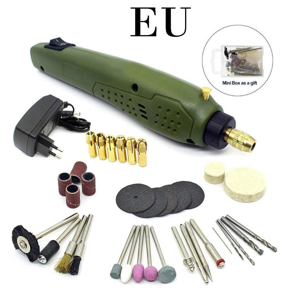 Taladro P500-11 Mini Electric Grinder máquina de grabado micro eléctrico Wenwan Molienda Taladro Pequeño
