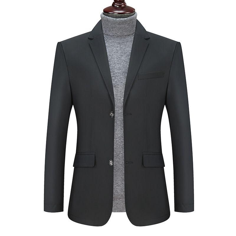 chaquetas más el tamaño de los hombres juego de la chaqueta chaqueta formal de la chaqueta de vestir de 6XL 7XL 8XL los hombres traje de boda de alta calidad de negocios Jacke