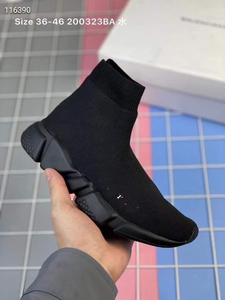 2019 Nouveau Mode Enfants Chaussures Enfants / Bébé De Course sneakers Bottes enfant garçon et filles laine tricoté chaussettes de sport chaussures 24-35