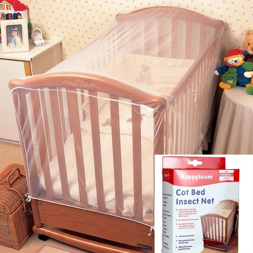 Berço Insetos Mosquitos Moscas Vespas Net Para Cama Infantil Dobrável Criança Bebê Mosquito Redes Berço Netting Q190530
