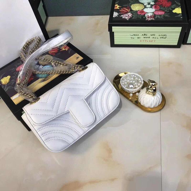 Top Quality Moda Casual Mulheres Bolsas Bolsas Carteiras de couro cadeia de ouro bolsa Bandoleira Sacos De Ombro Mensageiro Sacola Bolsa 6 cores