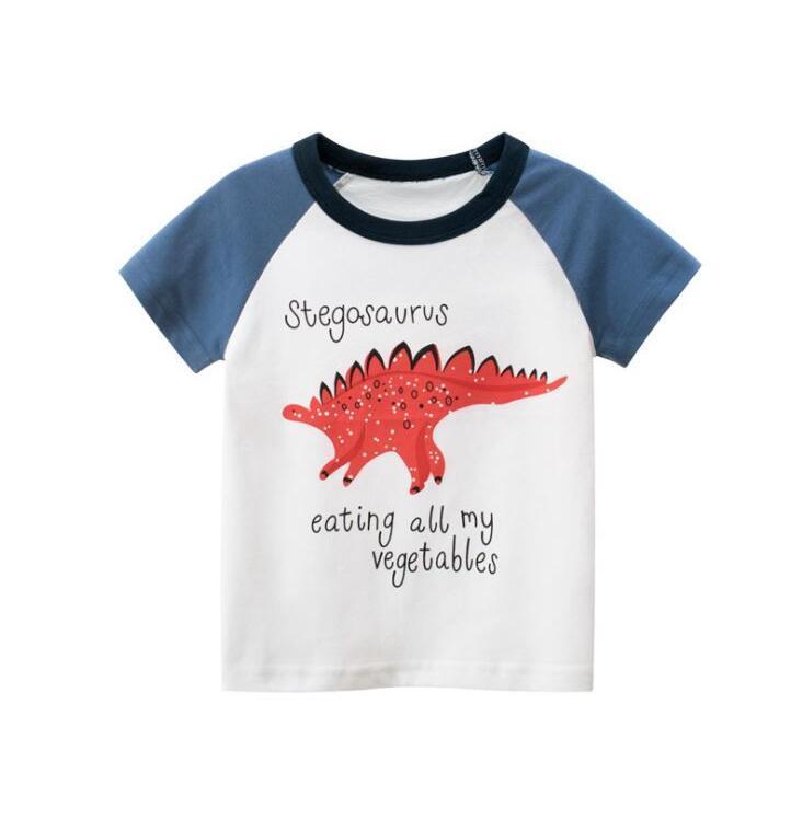 Детская одежда 2020 Детских Детской майка Девочка Главарь Одежда хлопок Девушка футболка Baby Girl Summer Shirt