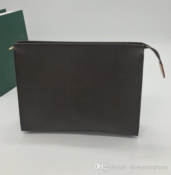고품질 디자이너 고급 지갑 남성 POCHETTE VOYAGE 핸드백 디자이너 여행 세면 파우치 클러치 가방 여성 방수 화장품 가방