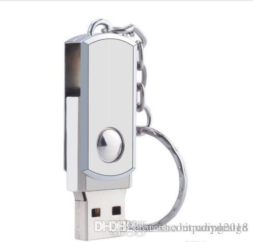 Qualitäts-8GB Schwenker-Metall-USB 3.0 Flash Drive Speicher-Daumen-Key-Stock-Feder Speicher Großhandel