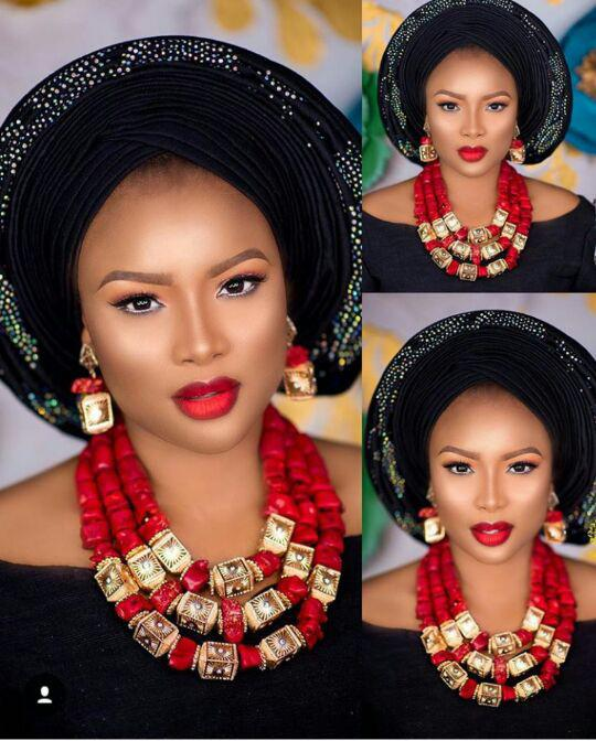 Superb Red and Gold Dubai Bridal Jewelry Necklace Set Natural Red Coral Beads African Wedding Beads Jewelry Set for Women NCL724