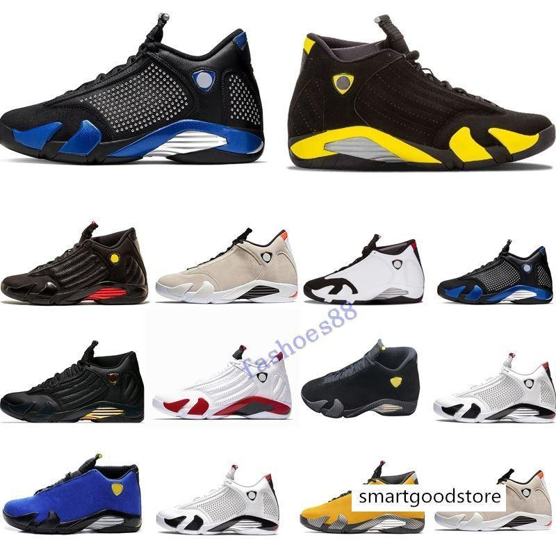 19 Jumpman 14s Erkek Basketbol Ayakkabı Varsity Kraliyet Kırmızı Ters Spor Eğitmeni Ferrar Son Shot Siyah Burun Basket Ball Sneaker Des Chaussures