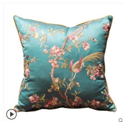 Novo Chinês sofá de mogno bordado grande fronha abraço Sala de capa de almofada cama
