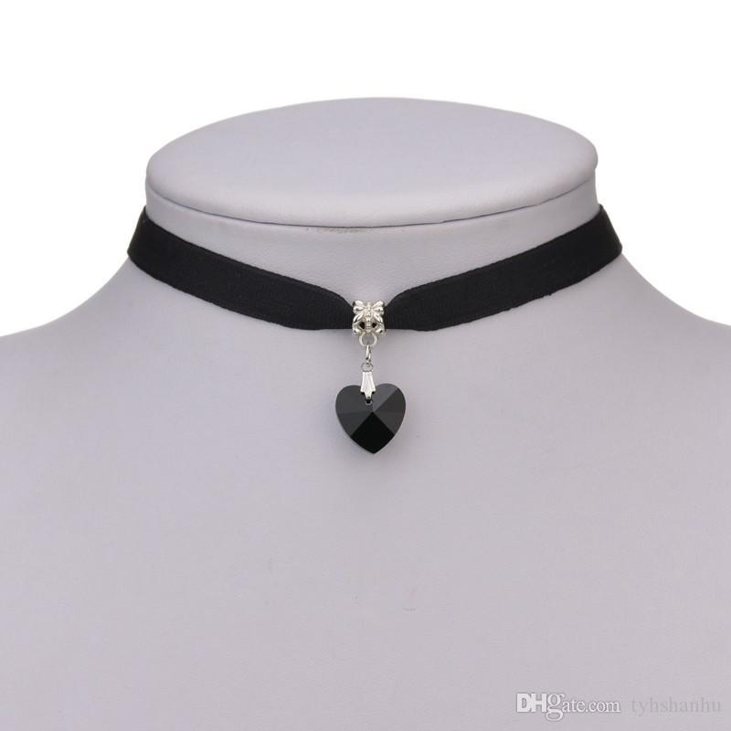 New Black Velvet Halskette Goldkette Bar-Halskette für Frauen collares mujer collier ras du cou N710