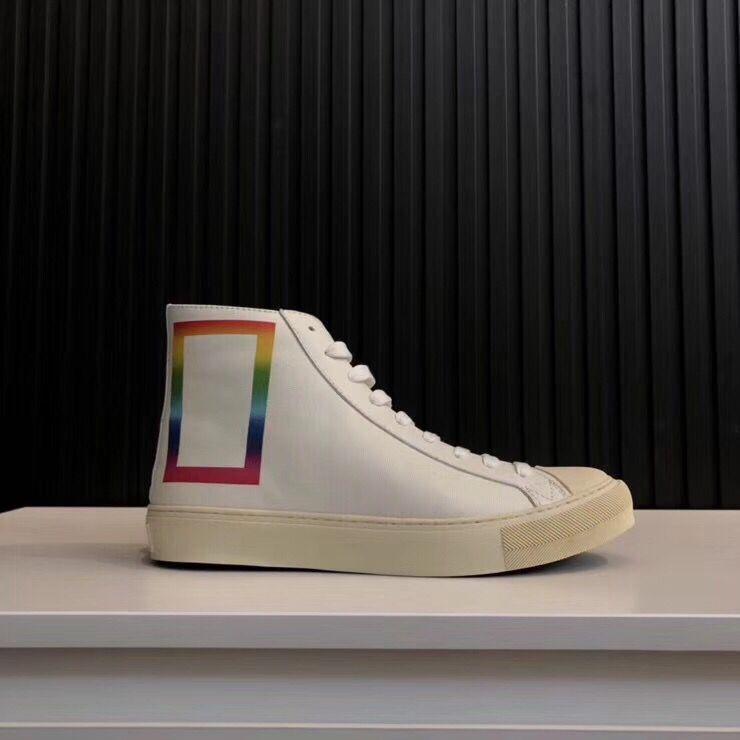 Top Qualité 2019 Nouveau Designer botte luxes Hommes Tattoo Chaussures Mode Chaussures de marque Casual chaussures Zapatos Schuhe formateurs L26