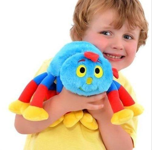 """New Authentic Woolly And Tig Spider Woolly 14"""" Soft Plush Doll Toy Kid's GiftMX190917"""