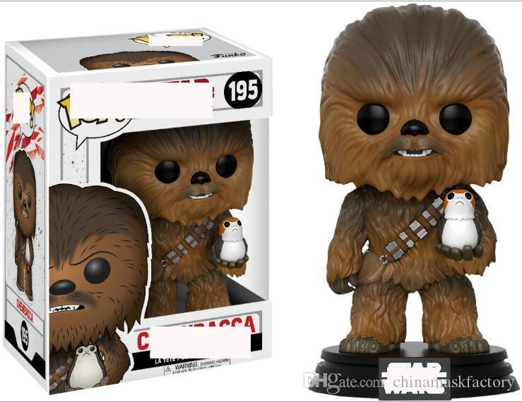 China Funko POP Chewbacca 195# Anime Figure Collection Model Hot Toys Birthdays Gifts Doll Hot Sale New Arrvial PVC Free Shipping
