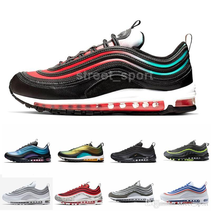 2019 Laser Running Shoes for Men Womens Designer Sneakers Court purple Throwback Future LX Liquid Metal Triple Black Trainers Sports
