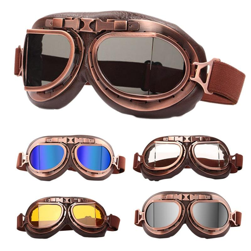الرجعية دراجة نارية نظارات الغبار الرمال واقية ركوب دراجة نارية النظارات النظارات يندبروف نظارات الغبار نظارات التكتيكية نظارات الأزياء HHA257