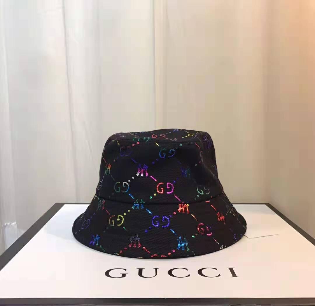 NY sombreros del cubo de lujo de alta calidad sombreros plegables negro venta Playa del pescador plegados tazón casquette de la mujer de los hombres con la etiqueta original