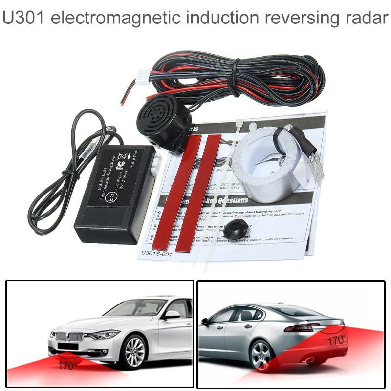هوت سيارة الكهرومغناطيسية وقوف السيارات الاستشعار لا الثقوب  من السهل تثبيت وقوف السيارات الرادار الحرس الوفير نظام النسخ الاحتياطي عكس