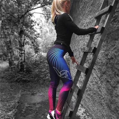 Lüks Özel Spor Yoga Pantolon Renkli Moda Egzersiz Fitnes Tozluklar yepyeni Gym Tayt Streç Yeni Hot0.0 Running Varış kadın