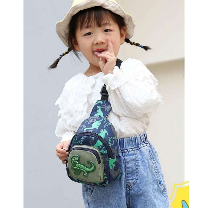 Enfants Designer Sacs Chest Garçons Filles Mode Messenger Dinosaur Sacs enfants luxe 2020 Sacs Cartoon camouflage pour enfants unisexe Bandbags