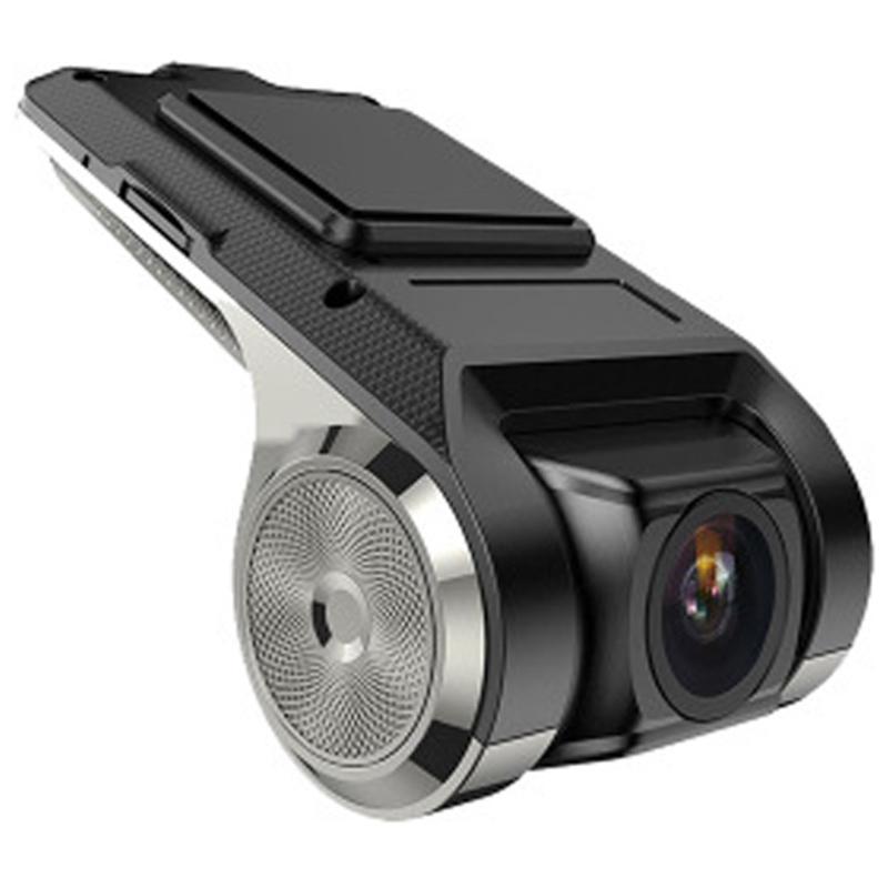 Usb cámara del coche DVR registrador de la conducción de vídeo HD grabador para Android 4.2 / 4.4 / 5.1.1 / 6.0.1 / 7.1 Cámara DVD GPS DVR